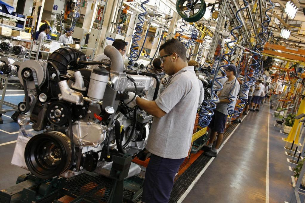 Mercedes-Benz do Brasil mit Produktionsrekord