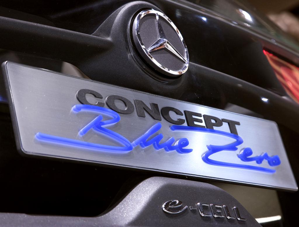 Mercedes-Design: Konzeptautos wie die Mercedes-Bluezero-Studie ...