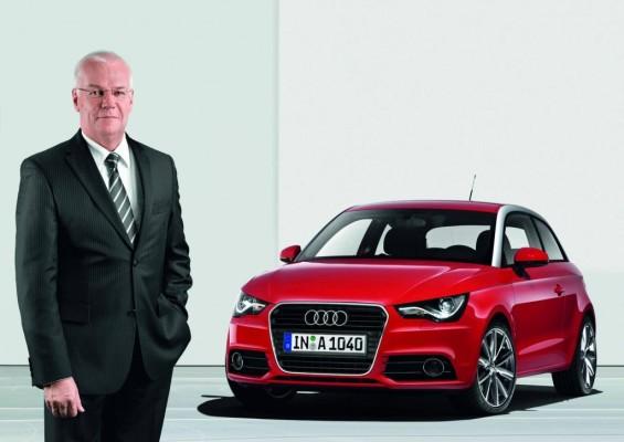 Michael Dick: ''Der Audi A1 ist eine Herausforderung''