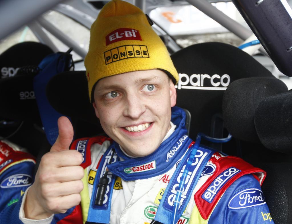 Mikki Hirvonen vor seinem 100. WRC-Lauf.