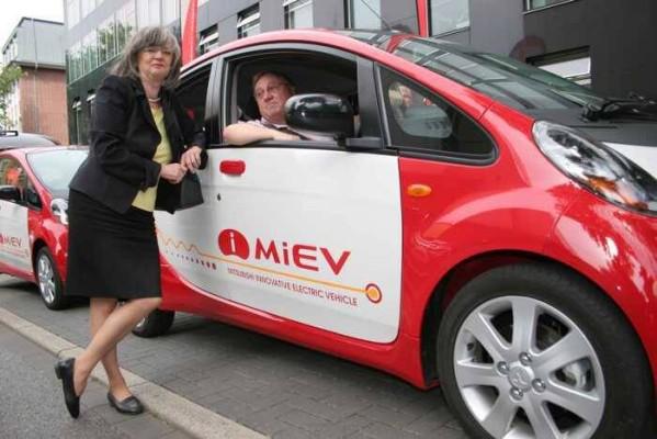 Mitsubishi tritt Bochumer Verein ruhrmobil-E bei