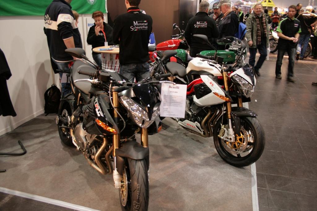 Motorrad Messe Leipzig 2010: Bikes, Girls und Impressionen