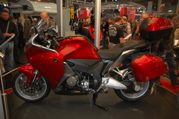 Motorrad Messe Leipzig 2010: Honda, Kawasaki und Hyosung