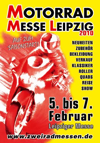 """Motorrad Messe Leipzig 2010: Von """"A"""" wie Aktion bis """"Z"""" wie Zubehör"""