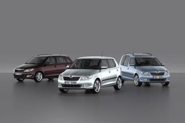 Neue Motoren und frische Optik für Kleinwagen von Skoda