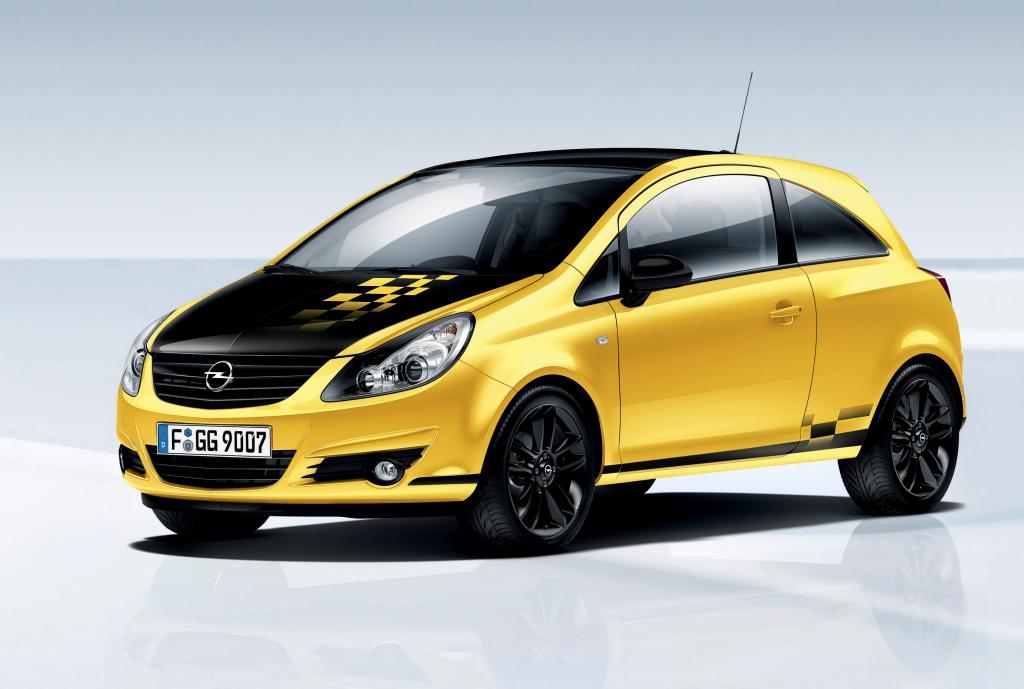 Opel Corsa Color Race.