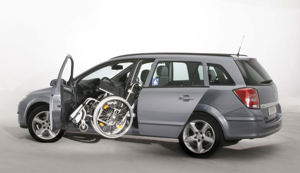 Opel bietet diverse Umbauten für Menschen mit Mobilitätseinschränkung an.