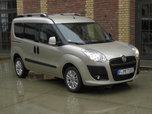 Pressepräsentation Fiat Doblò: Italienisches Goldstück
