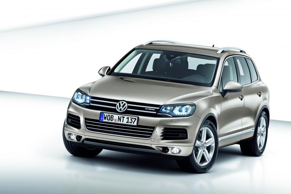 Pressepräsentation Volkswagen Touareg: Ende der Bescheidenheit