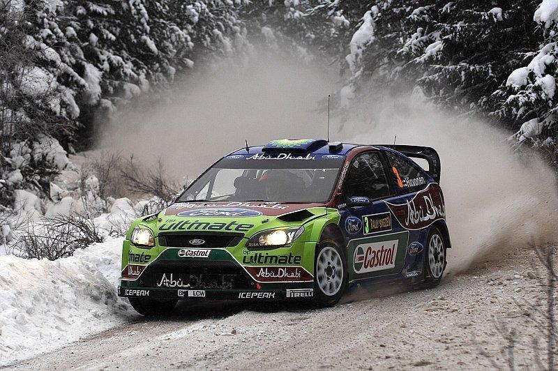 Rallye Schweden 1. Tag - Hirvonen nicht zu stoppen: Sekundenkampf an der Spitze