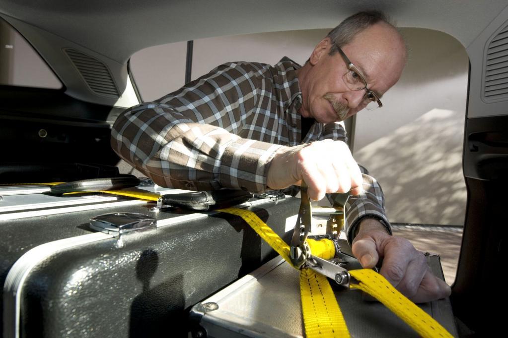 Ratgeber: Ladung im Fahrzeug sicher verstauen