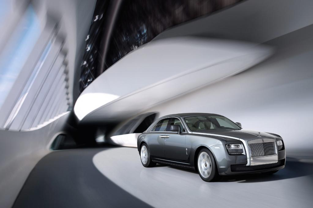 Rolls-Royce Ghost: Geisterstunde in der Luxusklasse