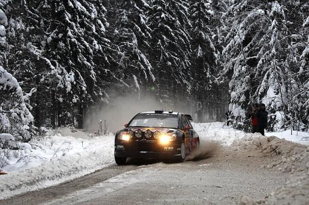 Shakedown Rallye Schweden: Loeb vorne: Citroen-Duo vor Ford-Trio