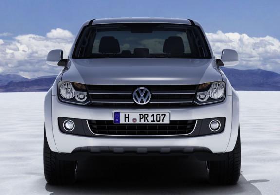 Sogar mit Stylingbar beim Zubehör: Ein Prost auf den neuen Amarok-Pickup von Volkswagen