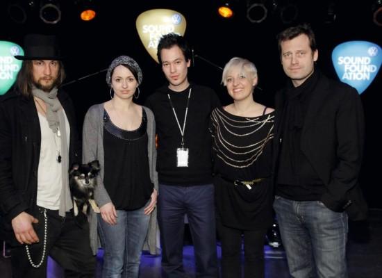 Soundfoundation vermittelte neuen Bands den Feinschliff