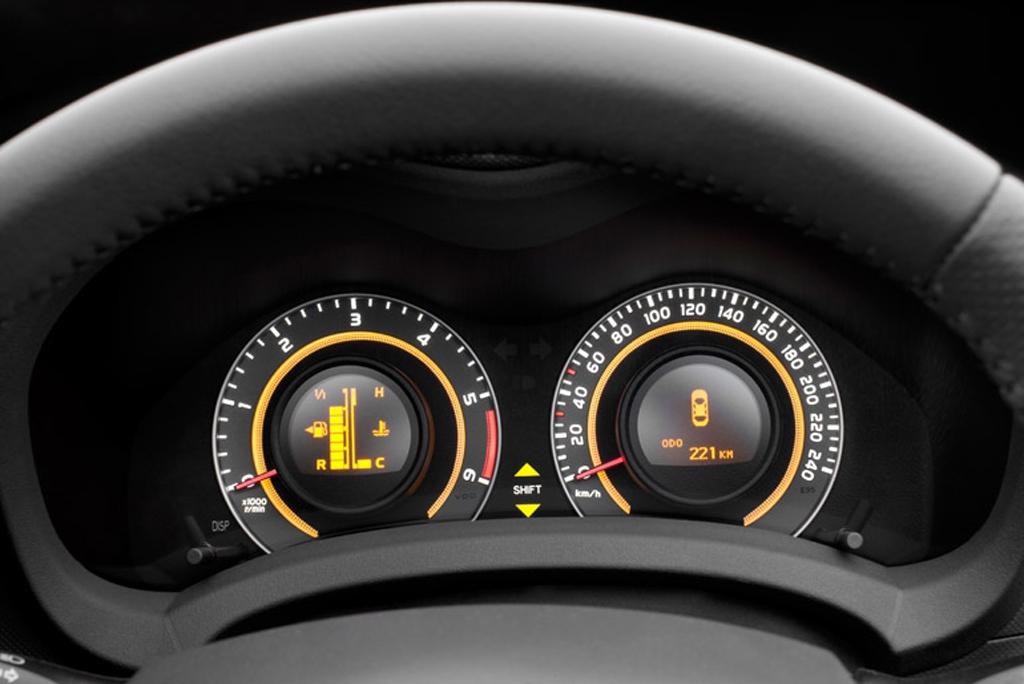 Toyotas neuer Auris: Blick auf Rundinstrumente.