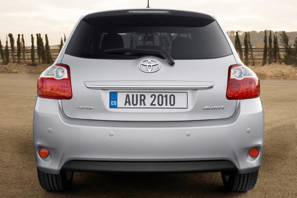 Toyotas neuer Auris: Heckansicht.