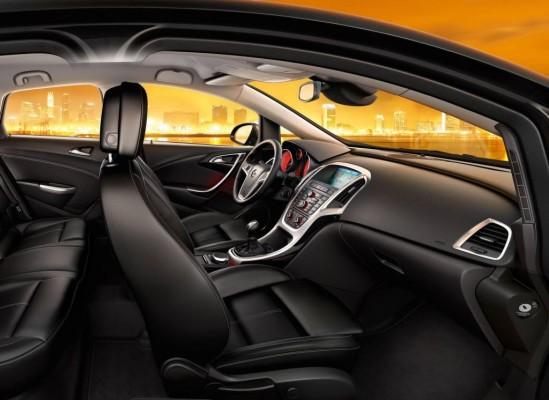 Traumnote für die reaktive Kopfstütze im neuen Opel Astra