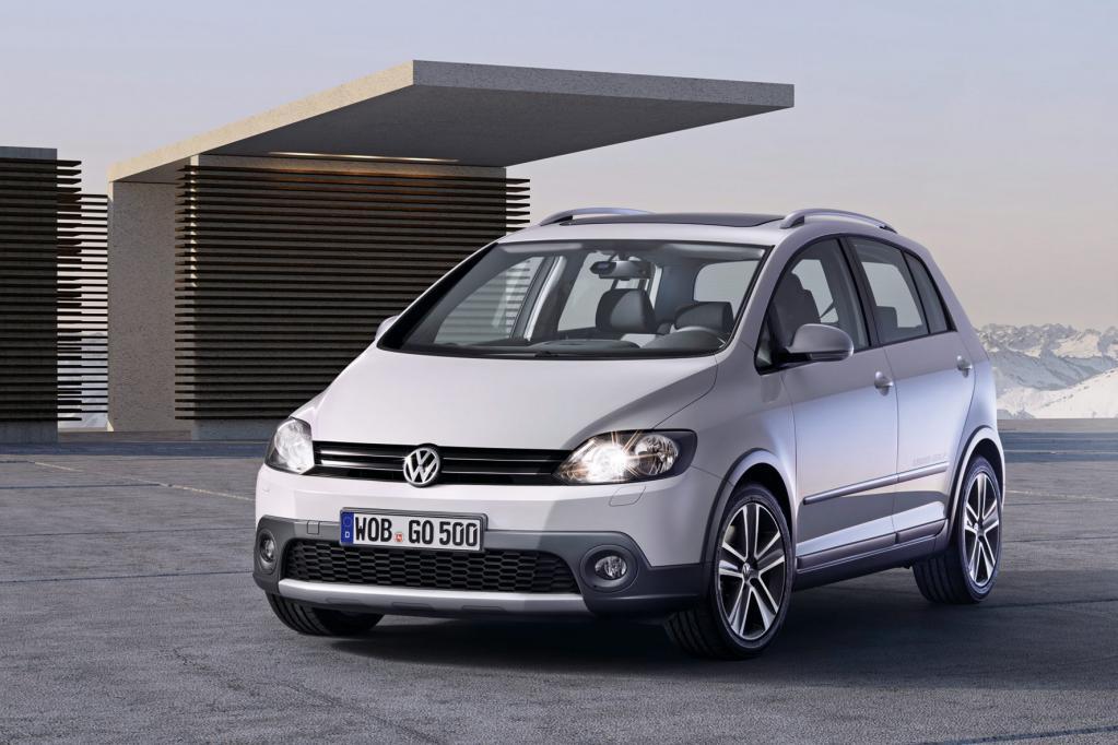 VW Cross Golf mit Genf-Debüt