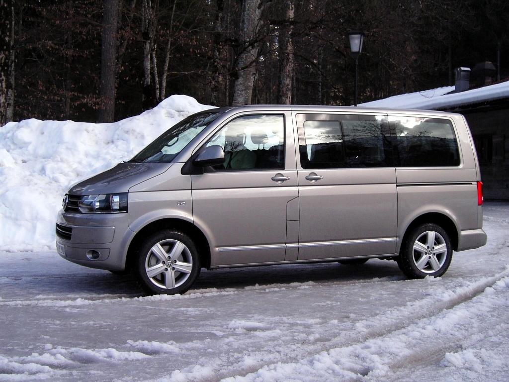 VW T5 4motion: Allradantrieb für den Bulli