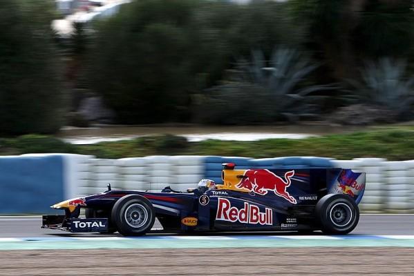 Vettel fährt Bestzeit zum Wochenauftakt: Regen und rote Flaggen