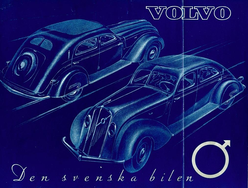 Volvo PV36, Broschüre aus dem Jahr 1935