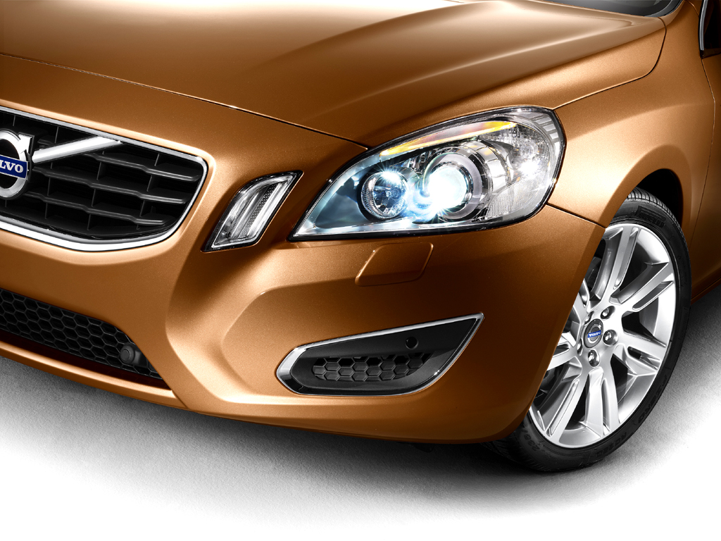 Volvo S60: Moderne Leuchten sind Design- und Sicherheitselemente.