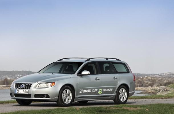 Volvo drückt V70 und S80 auf unter 120 Gramm CO2 pro Kilometer