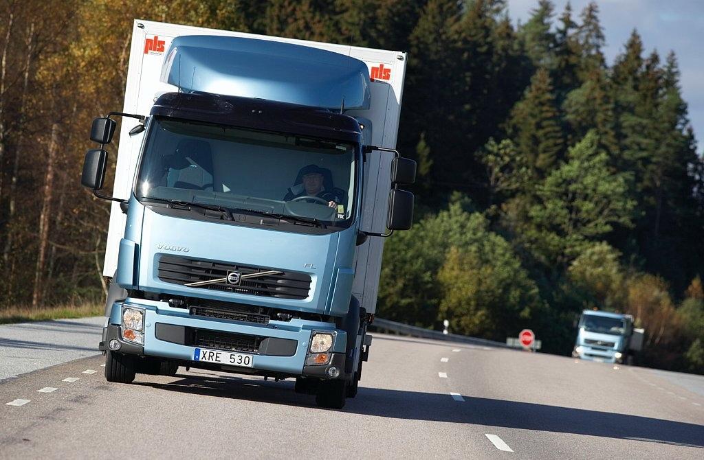 Volvo testet Methan-Diesel-Lkw in der Praxis
