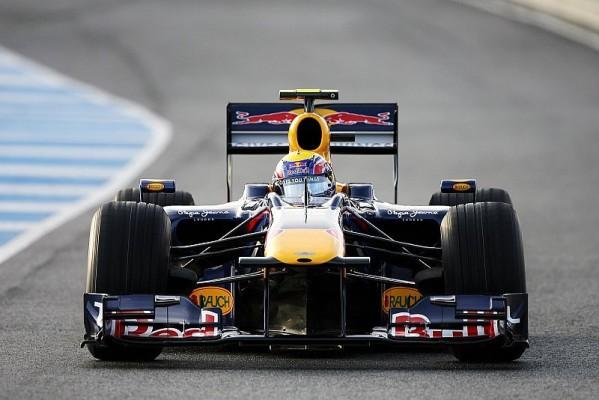 Webber im Trockenen an der Spitze: Schumacher im Mittelfeld
