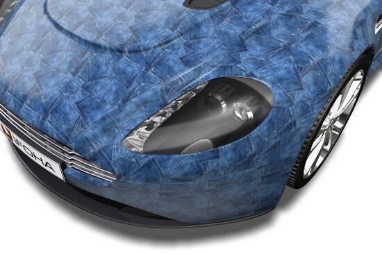 Wer den Jeans-Look liebt, kann auch sein Fahrzeug darauf trimmen.