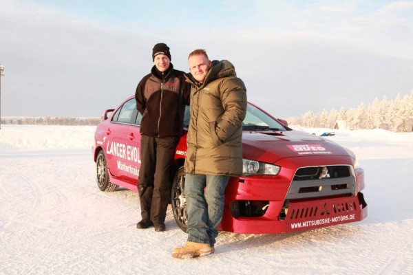Wintertraining: TV-Star trifft auf Rallye-Profi