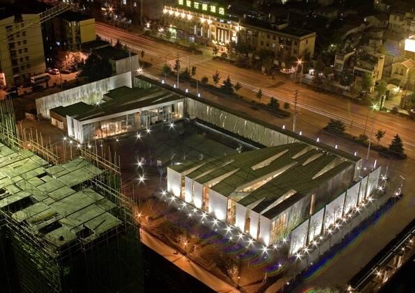 Wuhan CRLand French-Chinese Art Centre Wuchang 2005; ein Beitrag von Standardarchitecture in Peking.