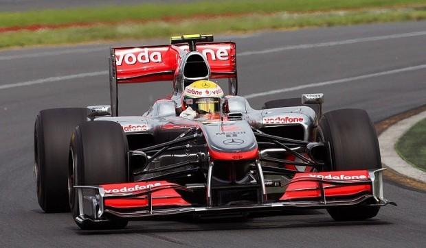 2. Freies Training: Hamilton vor Button