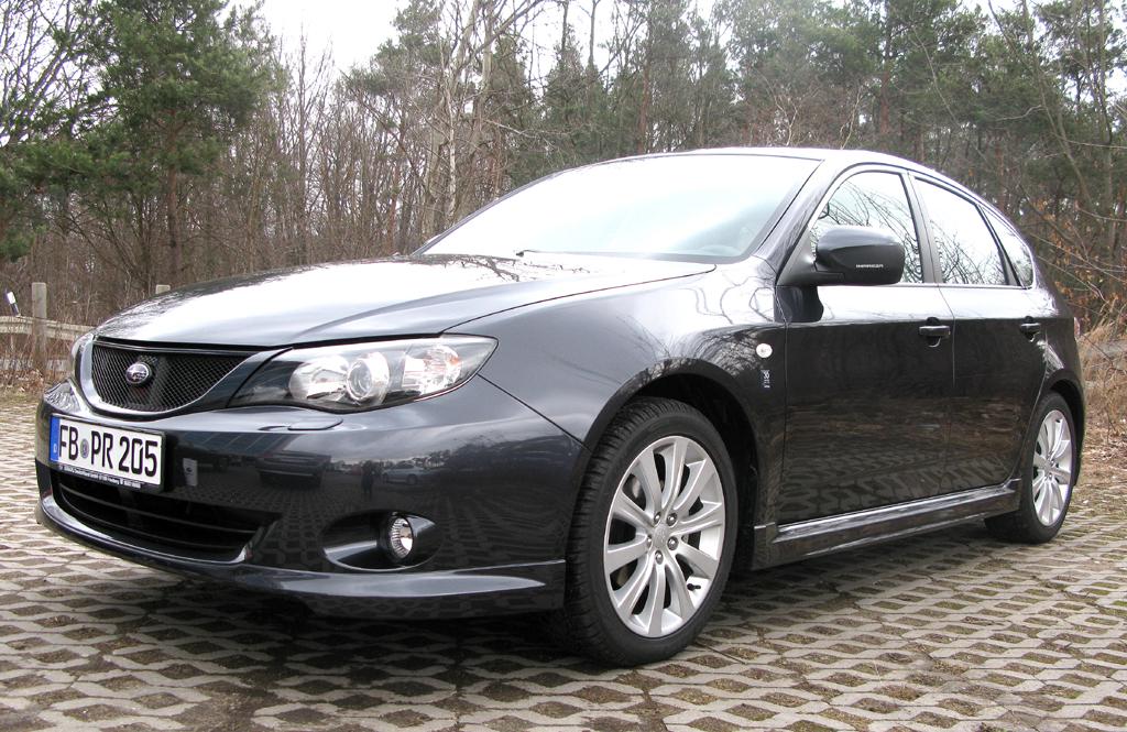 30 Jahre Subaru in Deutschland: Impreza-Editionsmodell.