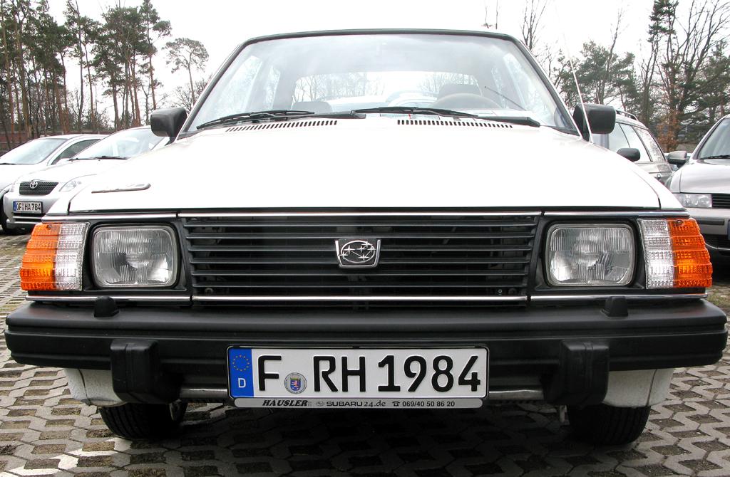 30 Jahre Subaru in Deutschland: Mit dem Allrad-1800 fing alles an.