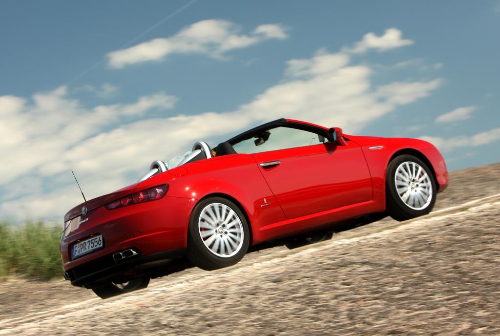 Alfa Romeo Spider.