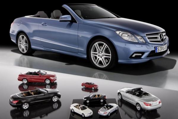 Auch kleine E-Klasse-Cabrios jetzt ganz groß im Handel