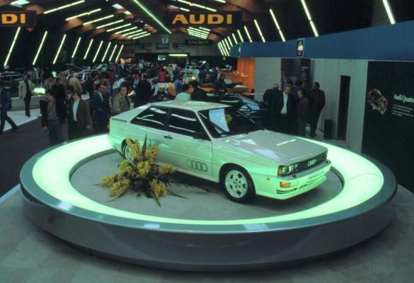 Audi feiert 30 Jahre Quattro