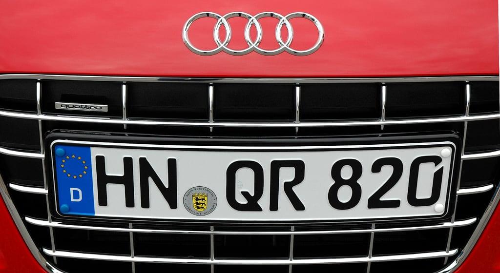 Audis neuer R8 Spyder: Der Sportwagen wird in Neckarsulm bei Heilbronn gebaut.