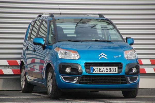 Ausfahrt - Citroën C3 Picasso HDi 110 FAP Airdream Exklusive: Transportvielfalt auf Französisch