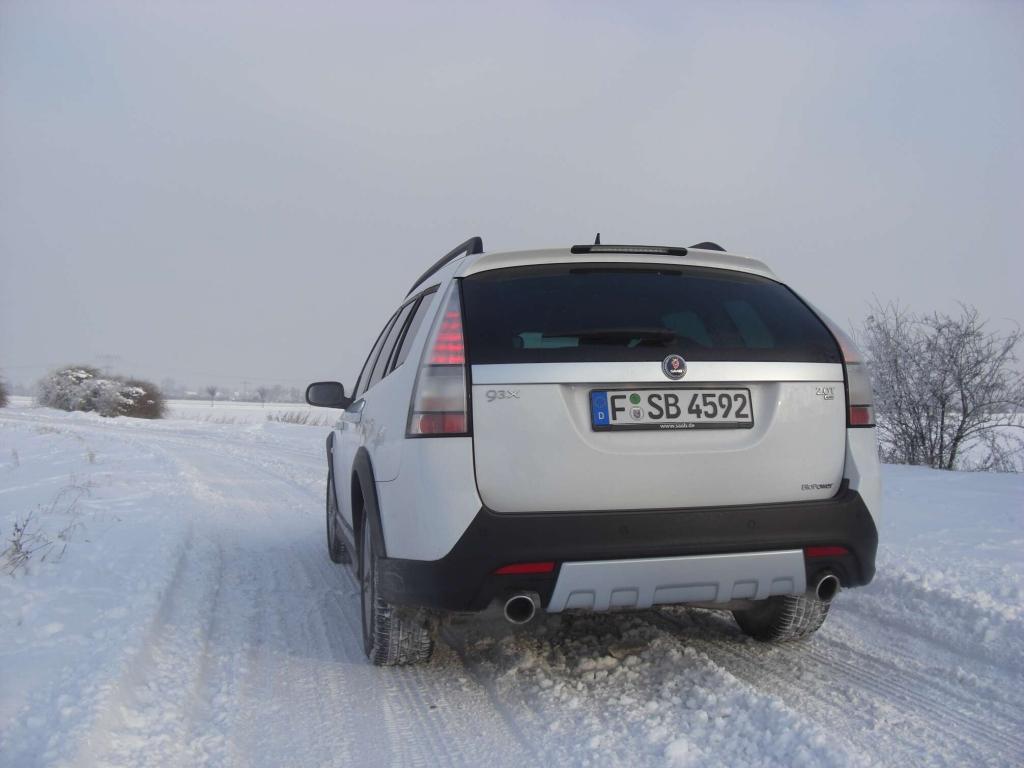 Ausfahrt Saab 9-3X XWD 2.0T BioPower: Auf allen Vieren unterwegs...