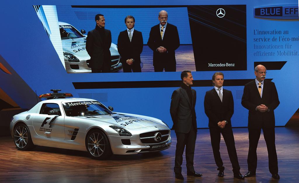 Autosalon Genf: Mercedes fährt auf Sieg - auch in der ''Formel Grün''