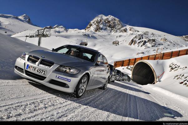 BMW – Maserati – Mercedes: Sicherheitstrainings auf Eis und Schnee