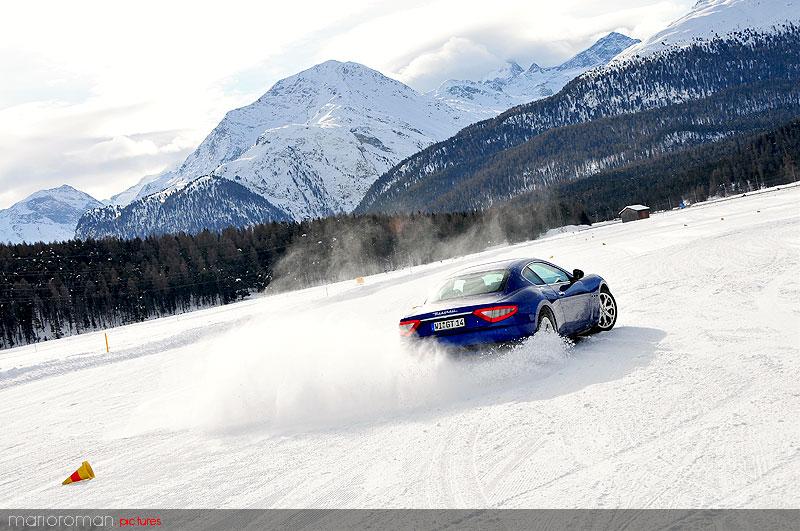 BMW – Maserati - Mercedes: Sicherheitstrainings auf Eis und Schnee