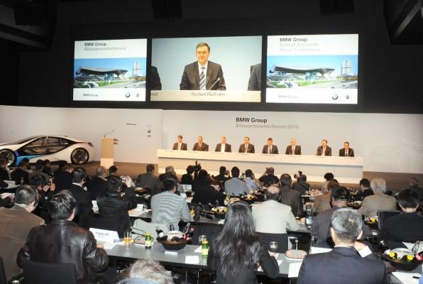 BMW will 2010 im soliden einstelligen Prozentbereich wachsen