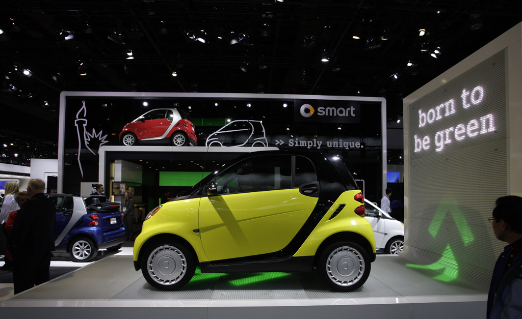 Bei Smart sollen die neue Fortwo-Generation und der Electric Drive wieder für eine Absatzbelebung sorgen.