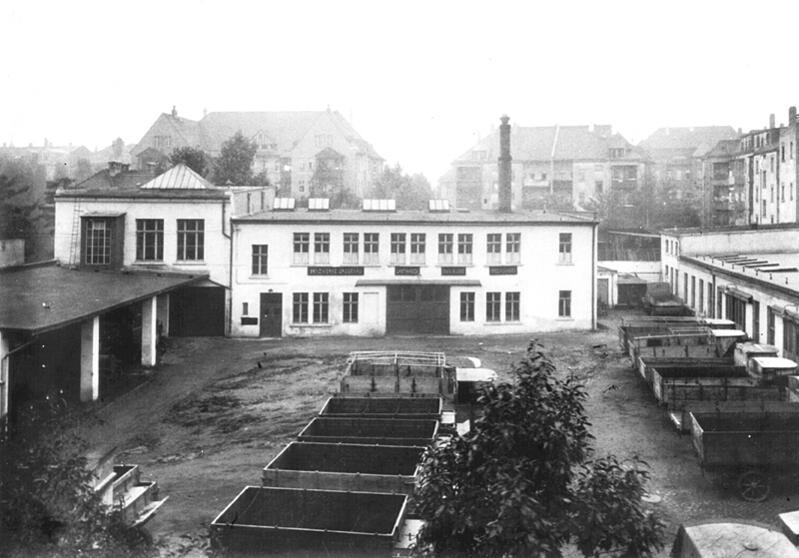 Benzwerke Gaggenau - Hofansicht