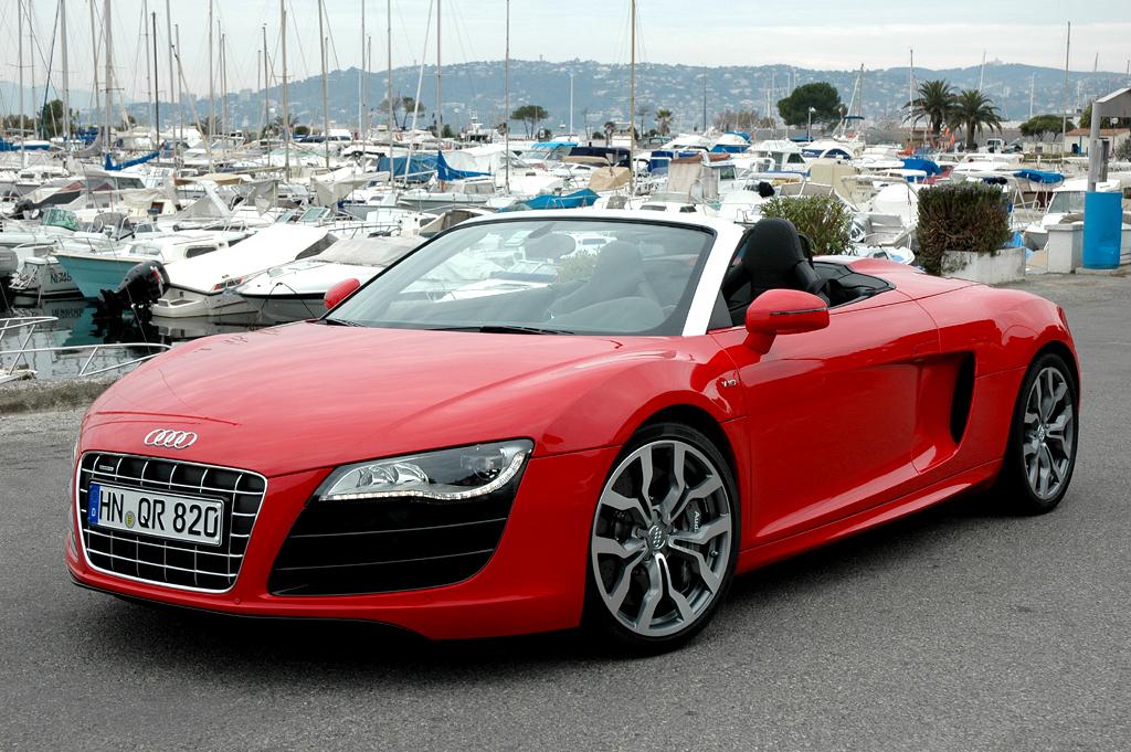 Berauschendes Fahrgefühl: Audi startet in diesen Tagen seinen R8-Spyder-Verkauf