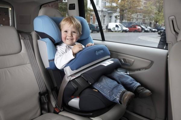 Bestnoten für CYBEX-Kindersitze im Test von ''Auto Bild''
